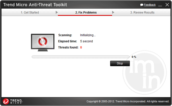 Anti-Threat Toolkit Scan