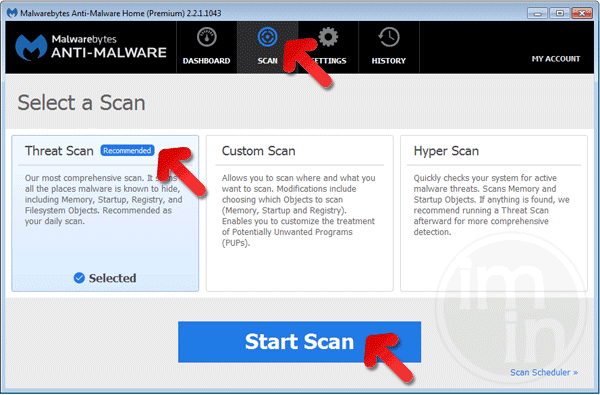 MBAM Scanner