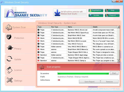 Windows Smart Security Screenshot Image