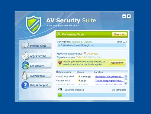 Green AV Security Suite
