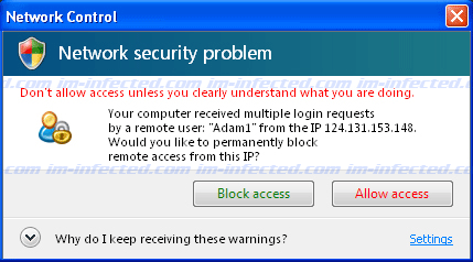Network Security Problem - Multiple Login