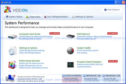 HDD Ok Image