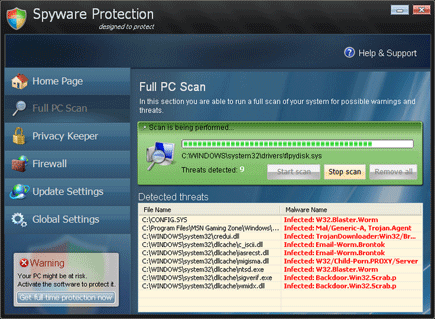 Spyware Protection Image