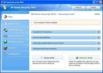 Vista Home Security 2011 Image