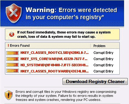 Registry Virus Scanner Image