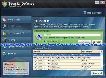 Image of Security Defense Virus