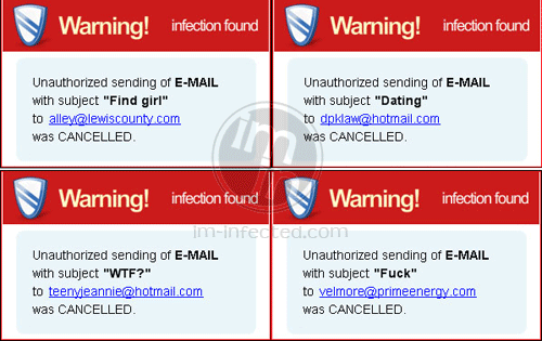 System Security 2011 Fake Warnings