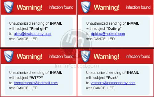 System Security 2011 Fake Warnings