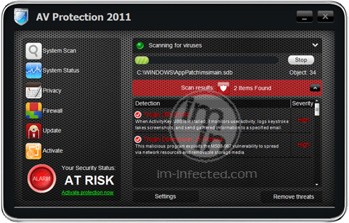 AV Protection 2011 Scanner