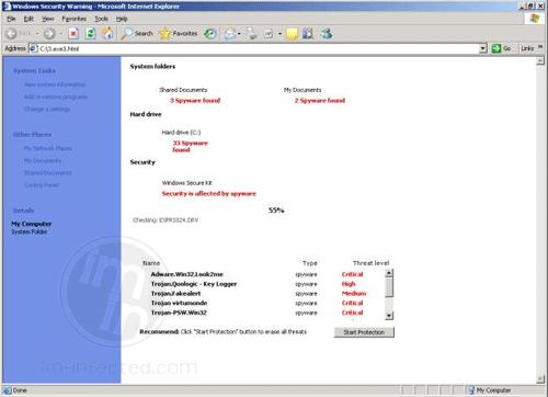 Windows Antivirus 2012 Fake Antivirus