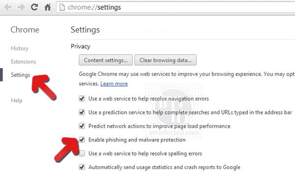 chome-phishing