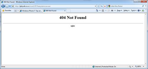 404 not found nginx