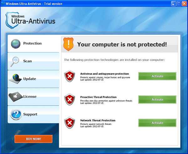 Windows Ultra-Antivirus Scanner
