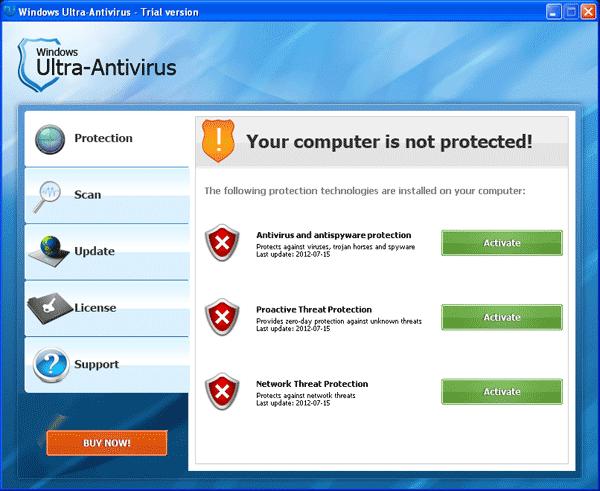 Windows Ultra-Antivirus Scanner