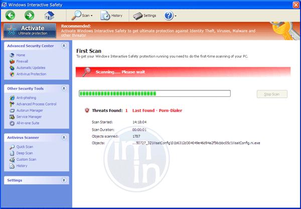 Windows Interactive Safety Scanner
