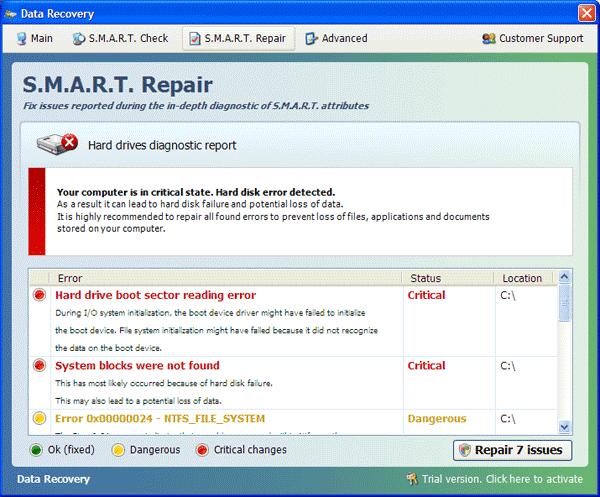 Smart Repair Scanner