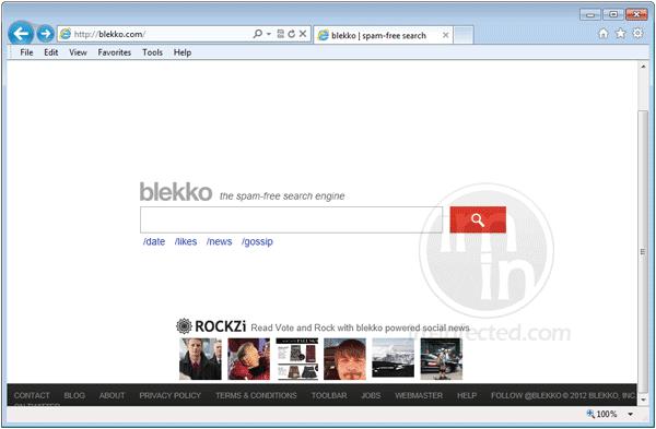 Blekko Search