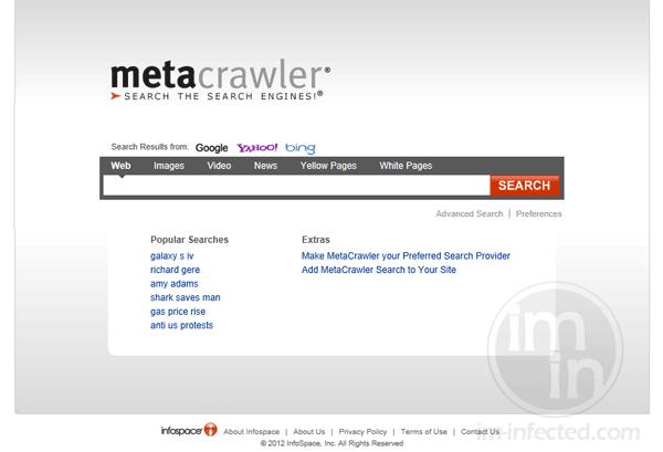 Metacrawler.com Search