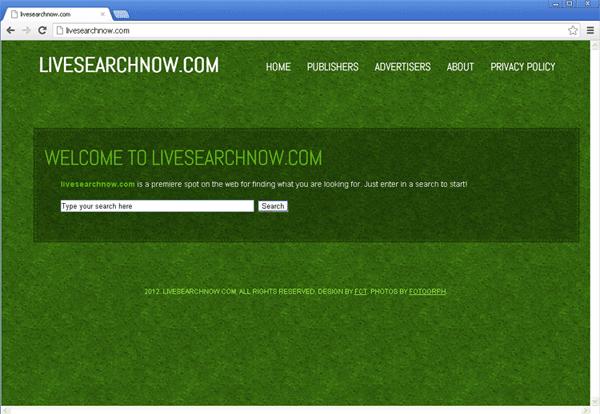 Livesearchnow.com Hijacker