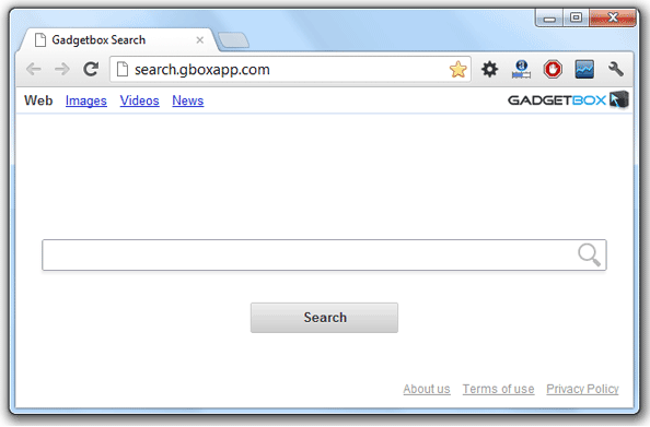 Gadgetbox Search Hijacker