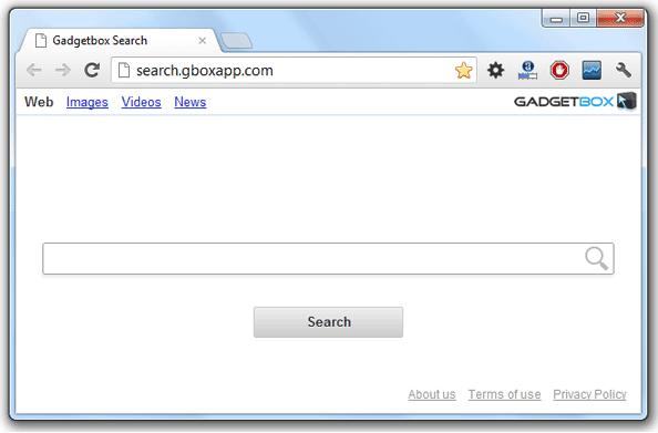 Gadgetbox Search Hijacker