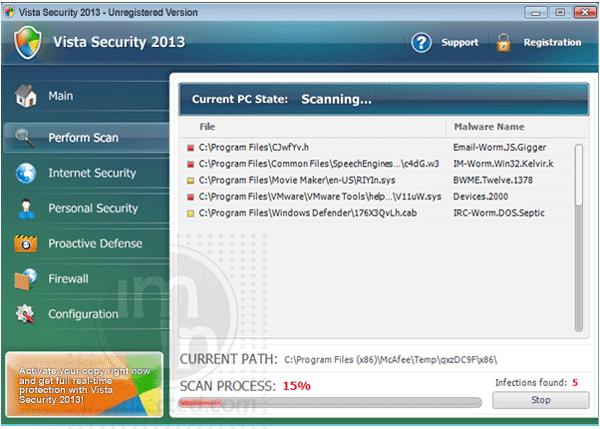 Vista Security 2013