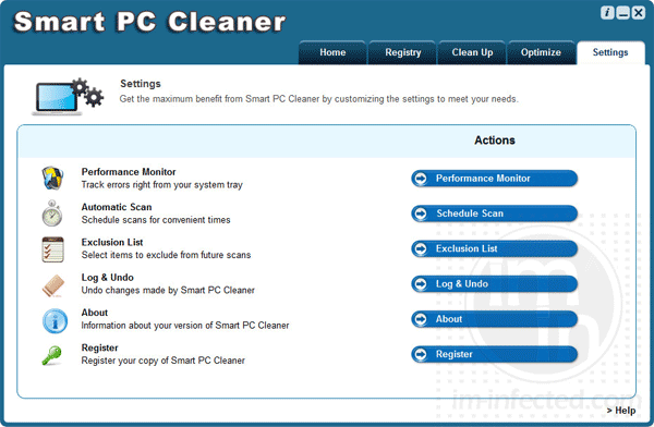Smart PC Cleaner Scan Main
