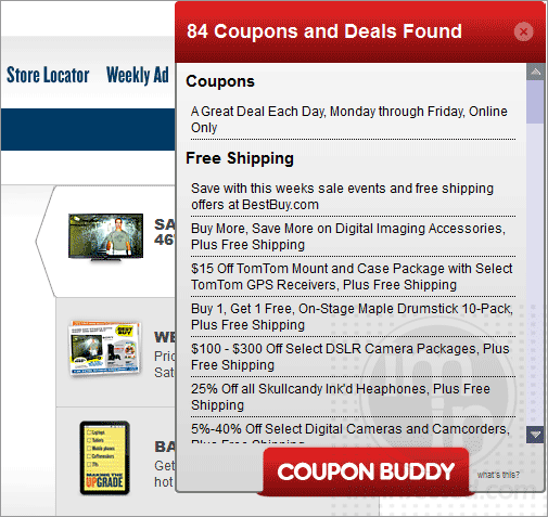 Coupon Buddy Deals