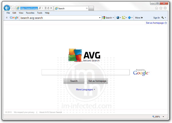AVG Secure Search Update uninstall | AVG