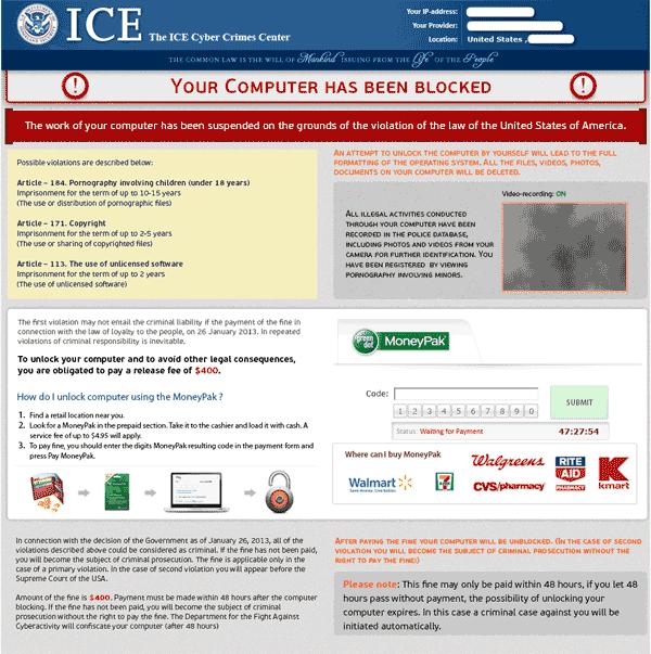 ICE Cyber Crimes Center