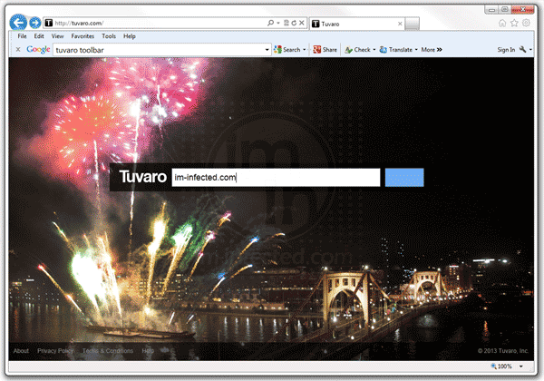 Tuvaro Search and Toolbar