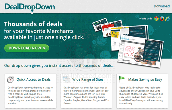 DealDropDown