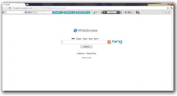 WhiteSmoke Toolbar