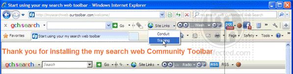 SearchWeb Toolbar