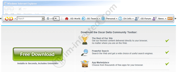 Oscar Delta Toolbar