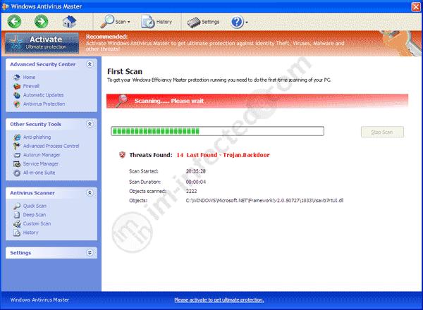 Windows Antivirus Master