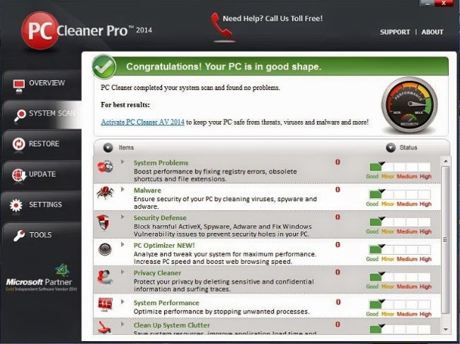 PC Cleaner Pro 2014