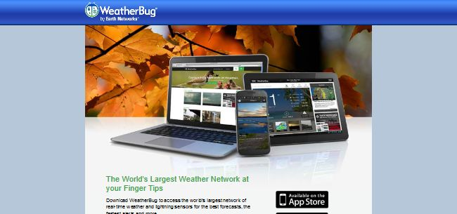 how to get rid of weatherbug windows 10