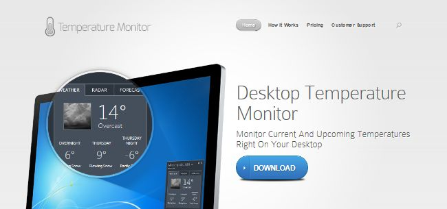 Desktop Temperature Monitor