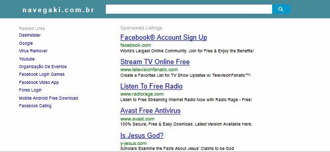 Search.navegaki.com.br