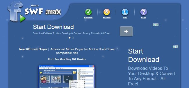 Uninstall Aero SWF max Flash Player - VirusPup