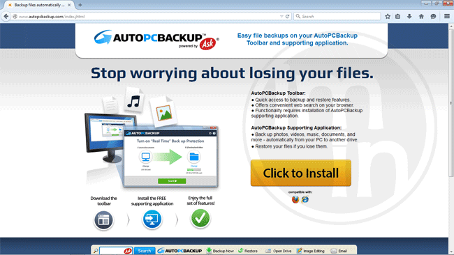 AutoPCBackup