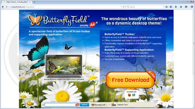ButterflyField Toolbar