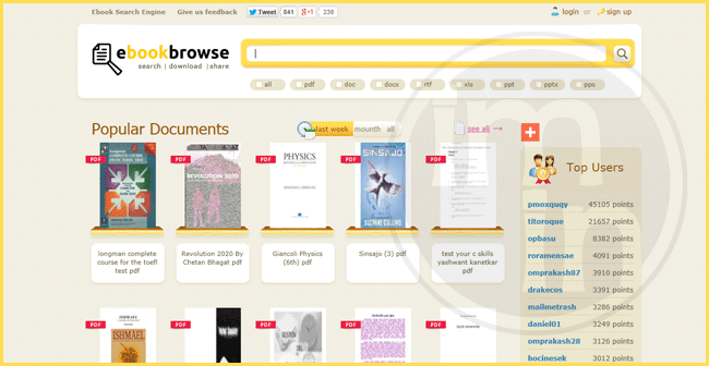 EbookBrowse
