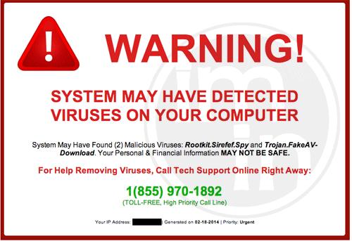 Windows Warning Error