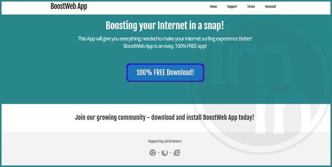 BoostWeb App