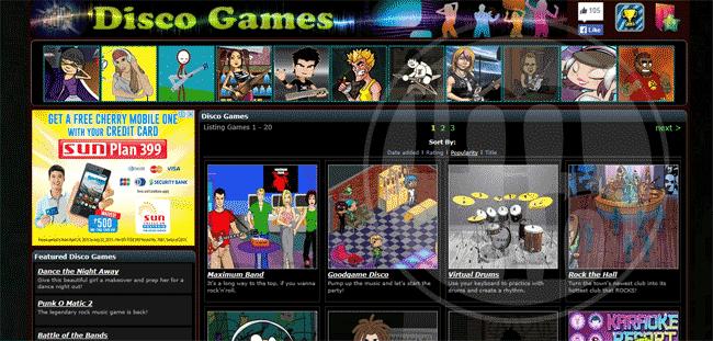 Disco Games