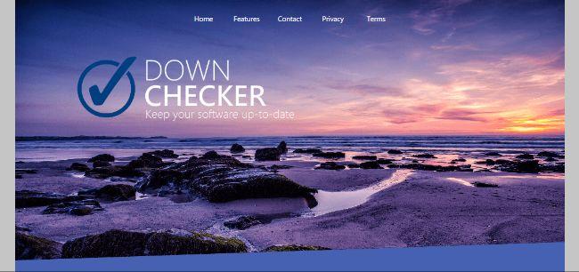 Down Checker