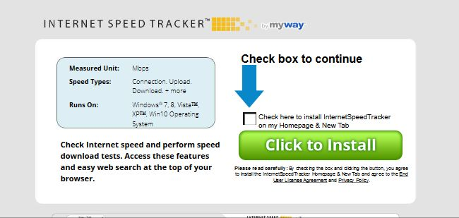 Internet Speed Tracker