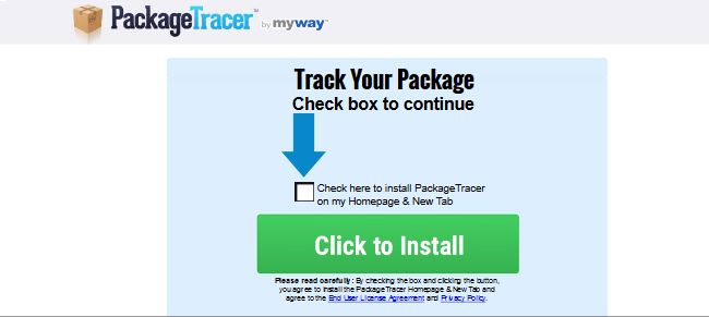 Package Tracer